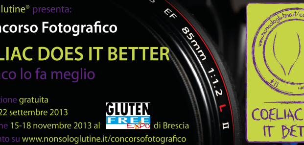 "Primo concorso fotografico ""Coeliac Does It Better"""