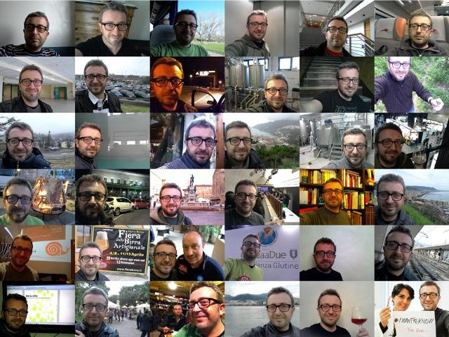 I 36 selfie di  #iwanttoknow